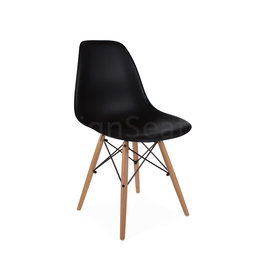 DSW Dining Chair Black