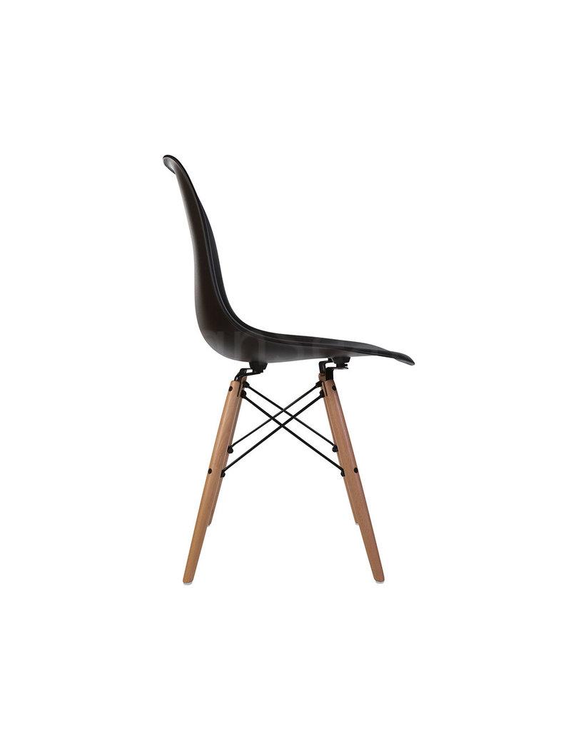 DSW Eames Design Eetkamerstoel Zwart