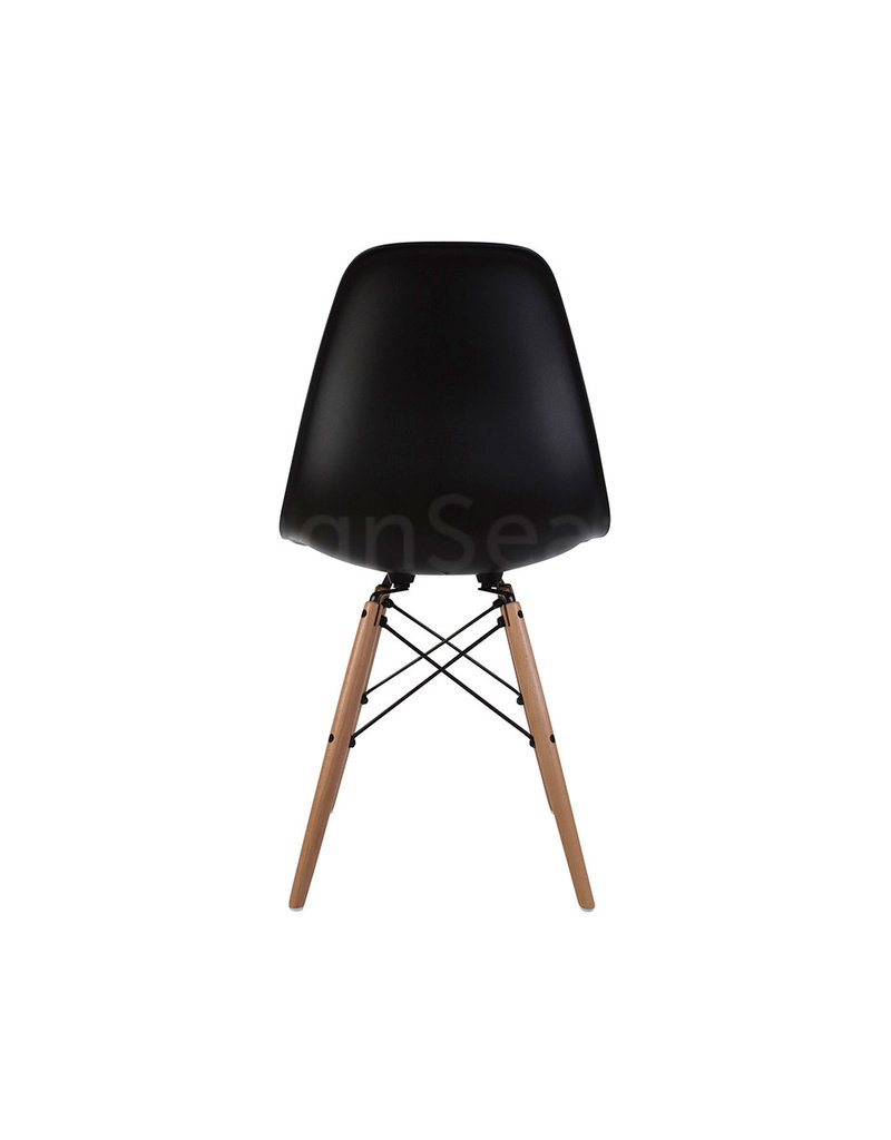 DSW Eames Design Dining Chair Black