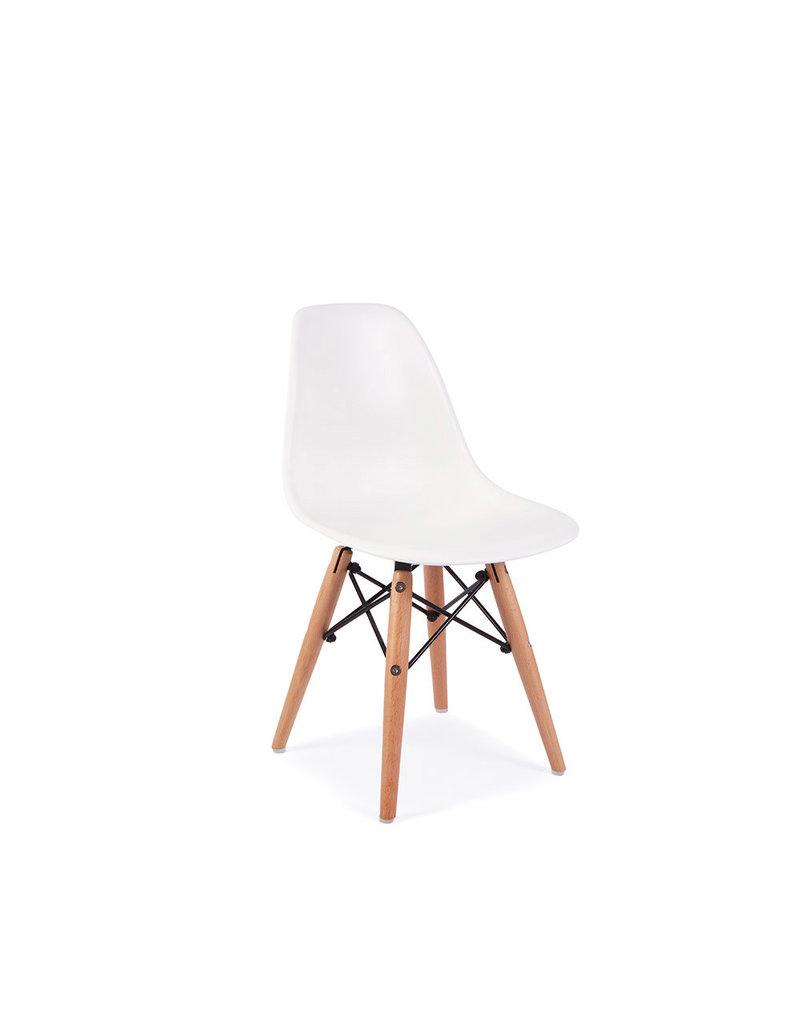 Kinderstoel Wit Hout.Dsw Kinderstoel Eames Wit