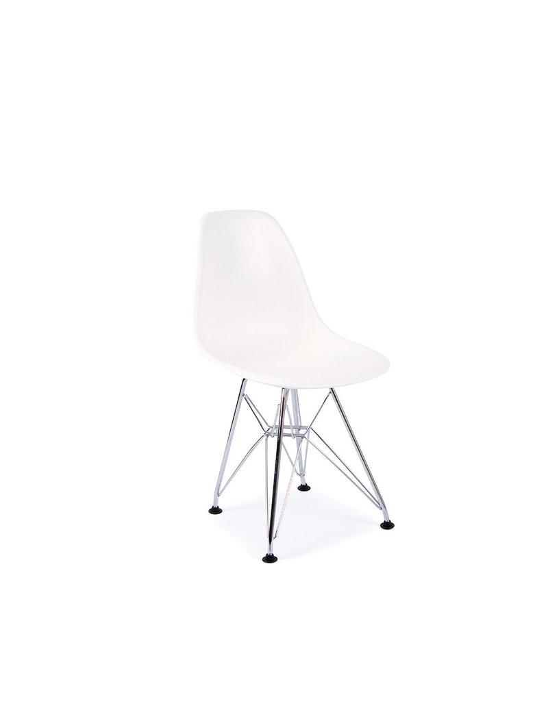 DSR Eames Kinderstoel Wit