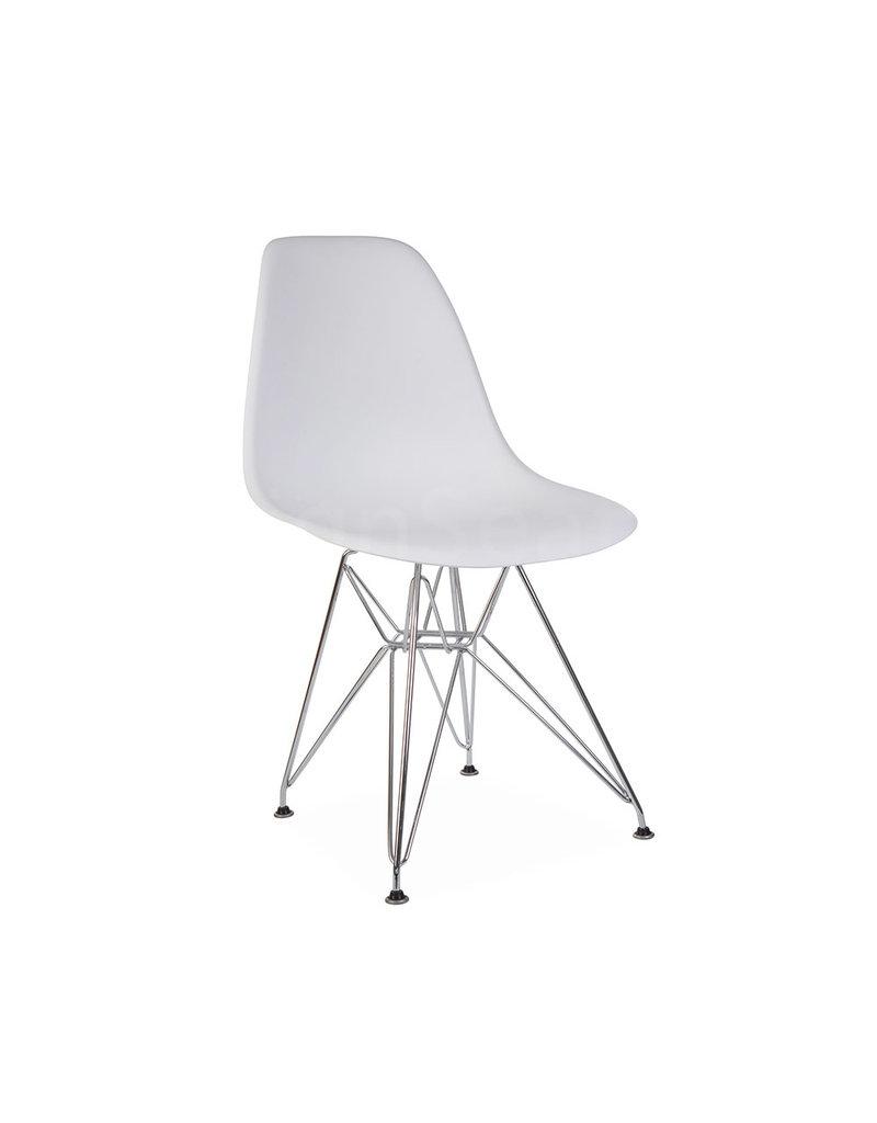 Witte Kunststof Design Stoelen.Dsr Eames Eetkamerstoel Wit Design Seats Design Stoelen Online