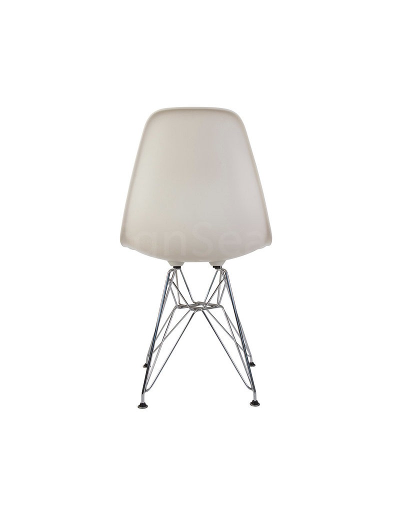DSR Eames Dining Chair Off white