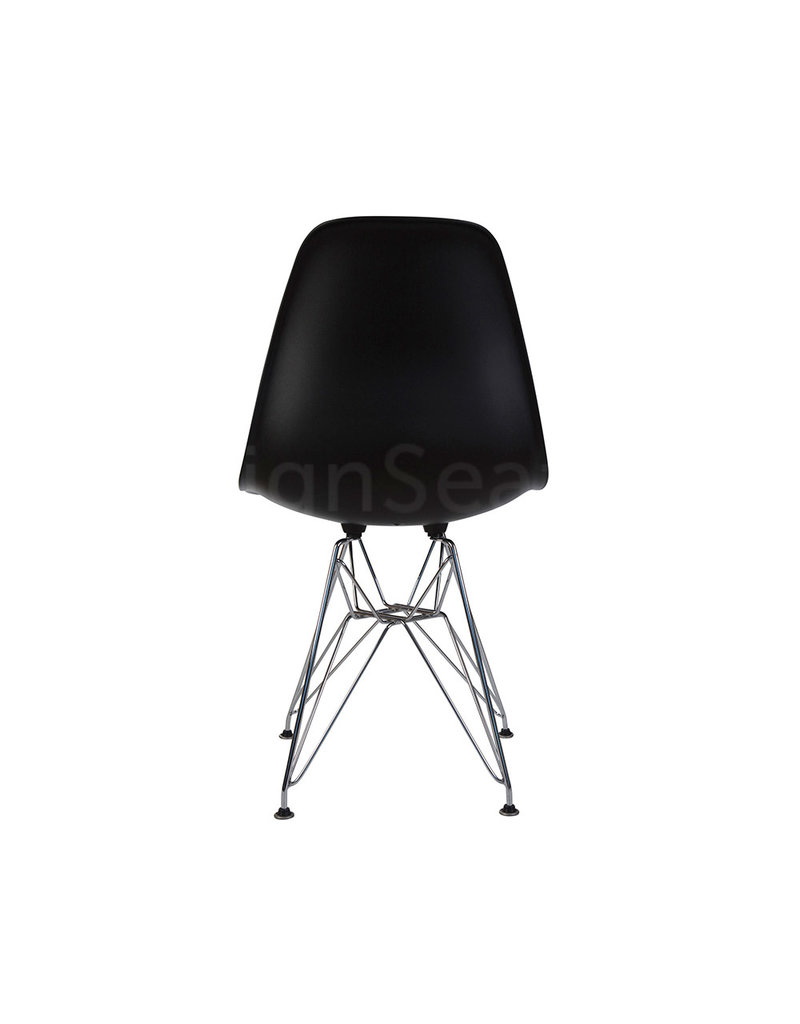 DSR Eames Dining Chair Black