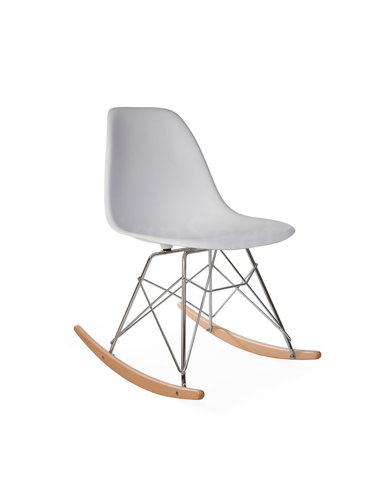 Awesome Rsr Eames Rocking Chair White Unemploymentrelief Wooden Chair Designs For Living Room Unemploymentrelieforg
