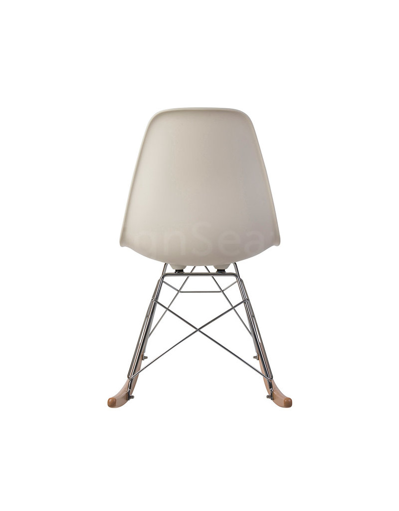 RSR Eames Rocking Chair Off white