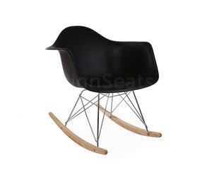 Eames Stoel Origineel : Rar eames schommelstoel zwart design seats design stoelen