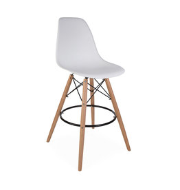 DSW BAR Eames Barkruk Wit