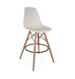 DSW BAR Eames Bar Stool Off white