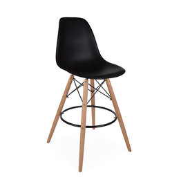 DSW BAR Eames Bar Stool Black