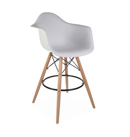 DAW BAR Eames Bar stool White