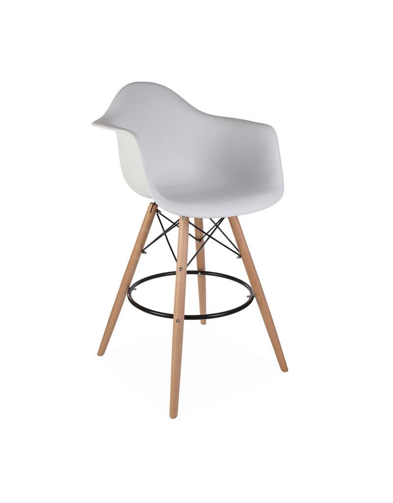 Enjoyable Daw Bar Eames Bar Stool White Ocoug Best Dining Table And Chair Ideas Images Ocougorg