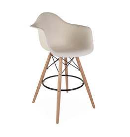 DAW BAR Eames Bar stool Off white