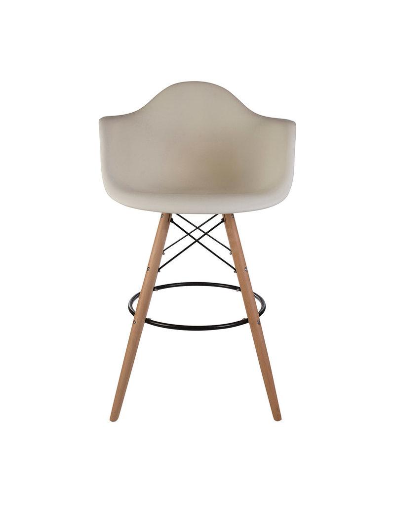 DAW BAR Eames Bar stool Off white