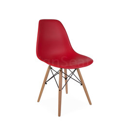 DSW Dining Chair Red