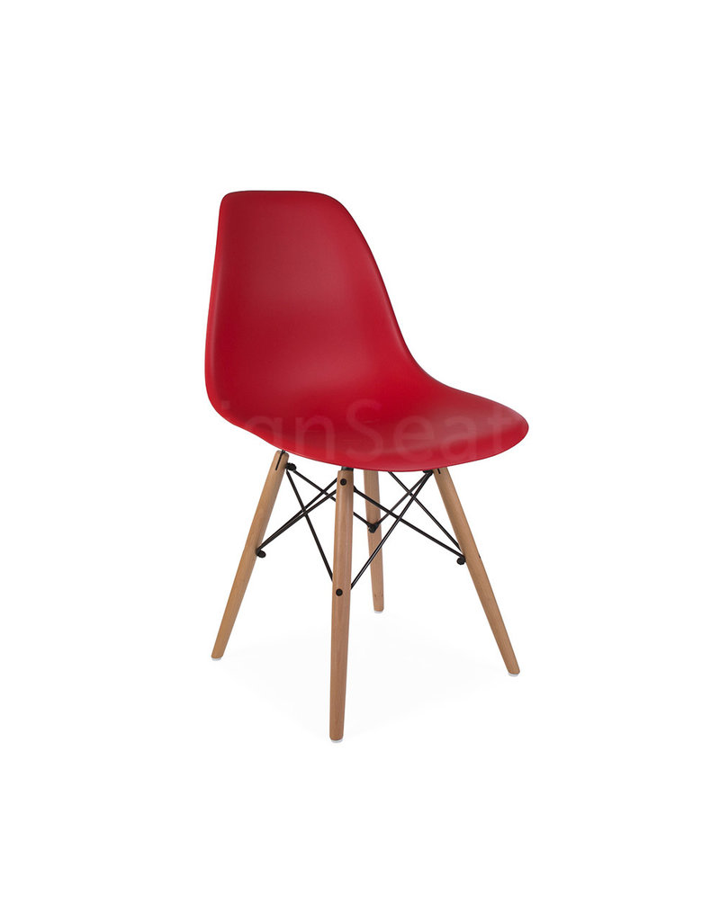 DSW Eames Design Dining Chair Red