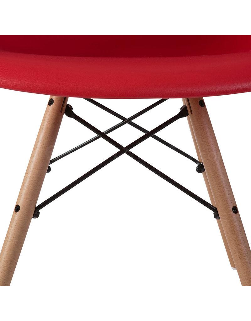 DAW Eames Design Chair Red