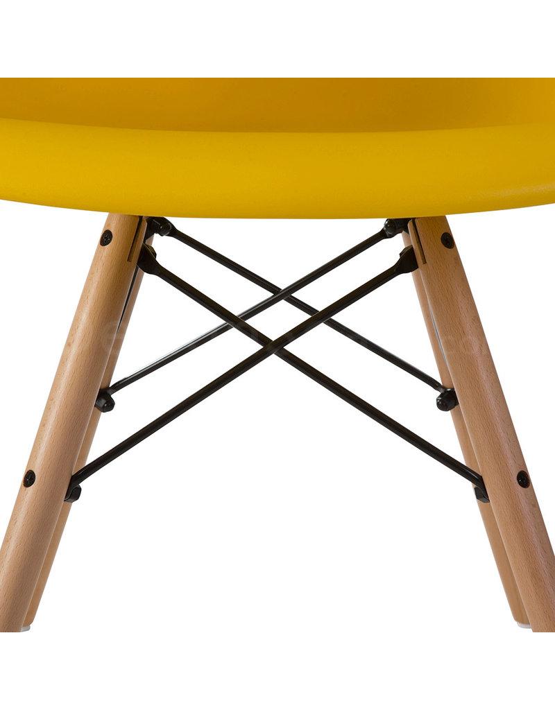DAW Eames Design Chair Corn-yellow