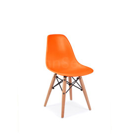 DSW Dining Chair Orange