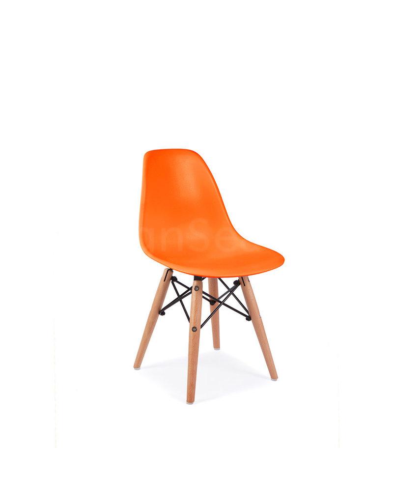 DSW Kinderstoel Eames Oranje
