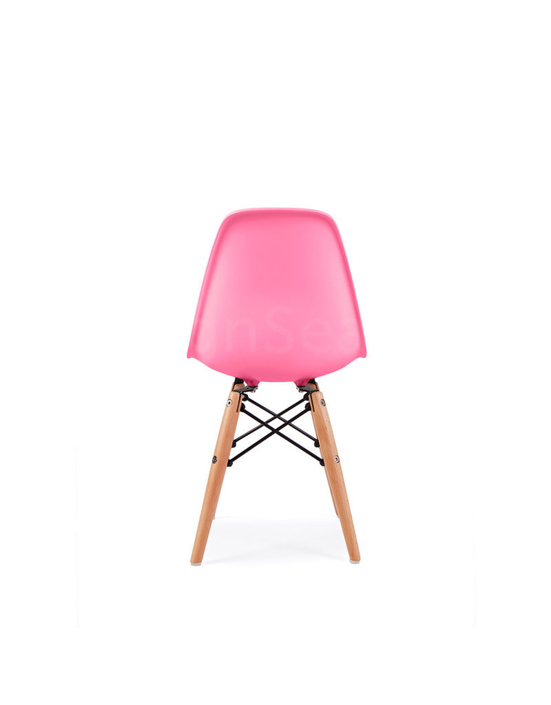 DSW Kids Eames Chair Hot Pink
