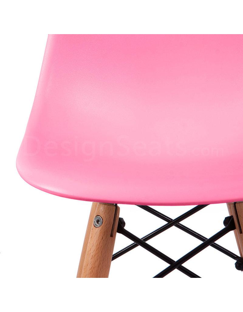DSW Kinderstoel Eames Zuurstok Roze