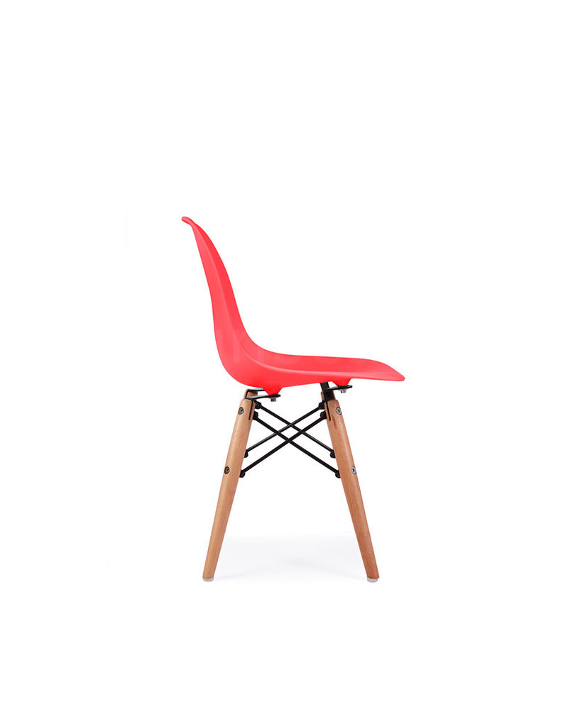DSW Kids Eames Chair Tomato Red