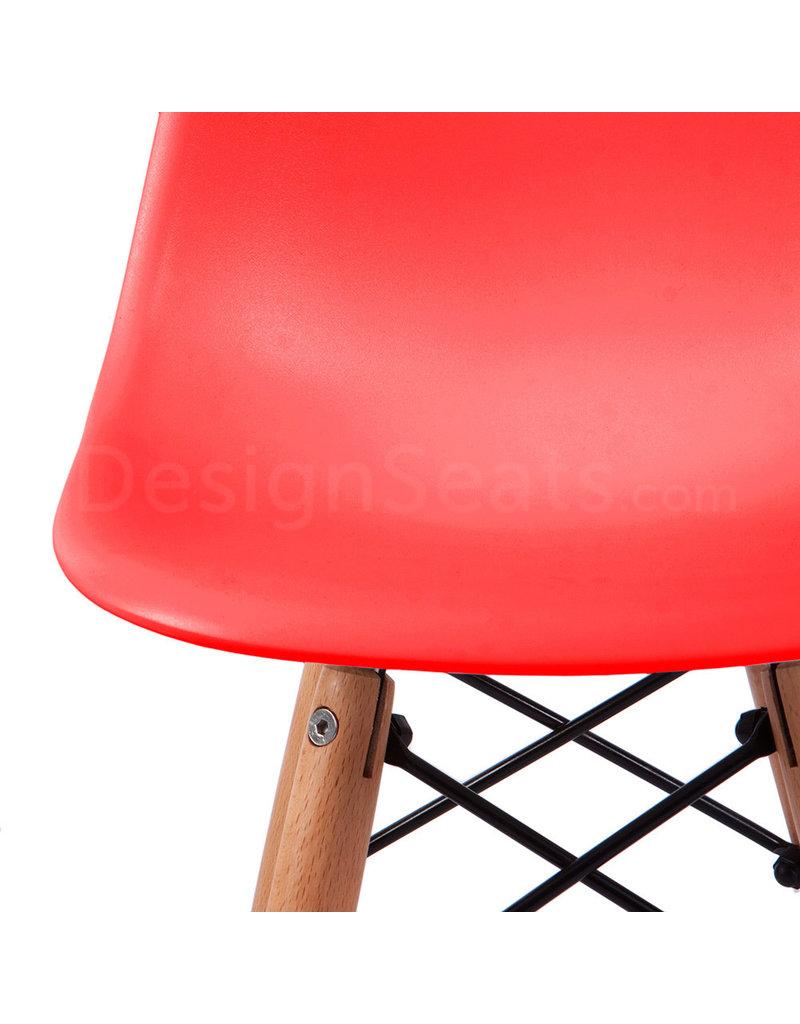 DSW Kinderstoel Eames Tomaten Rood
