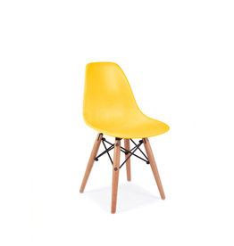 DSW Kids Eames Chair Corn Yellow