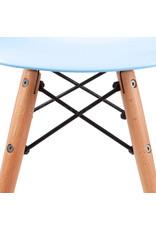 DSW Kinderstoel Eames Pastel baby blauw