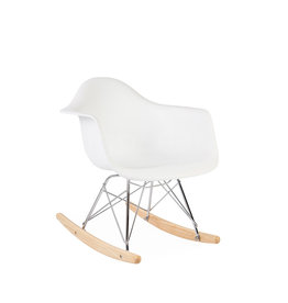 RAR Eames Kids Rocking chair White