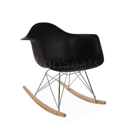 RAR Eames Kids Rocking chair Black