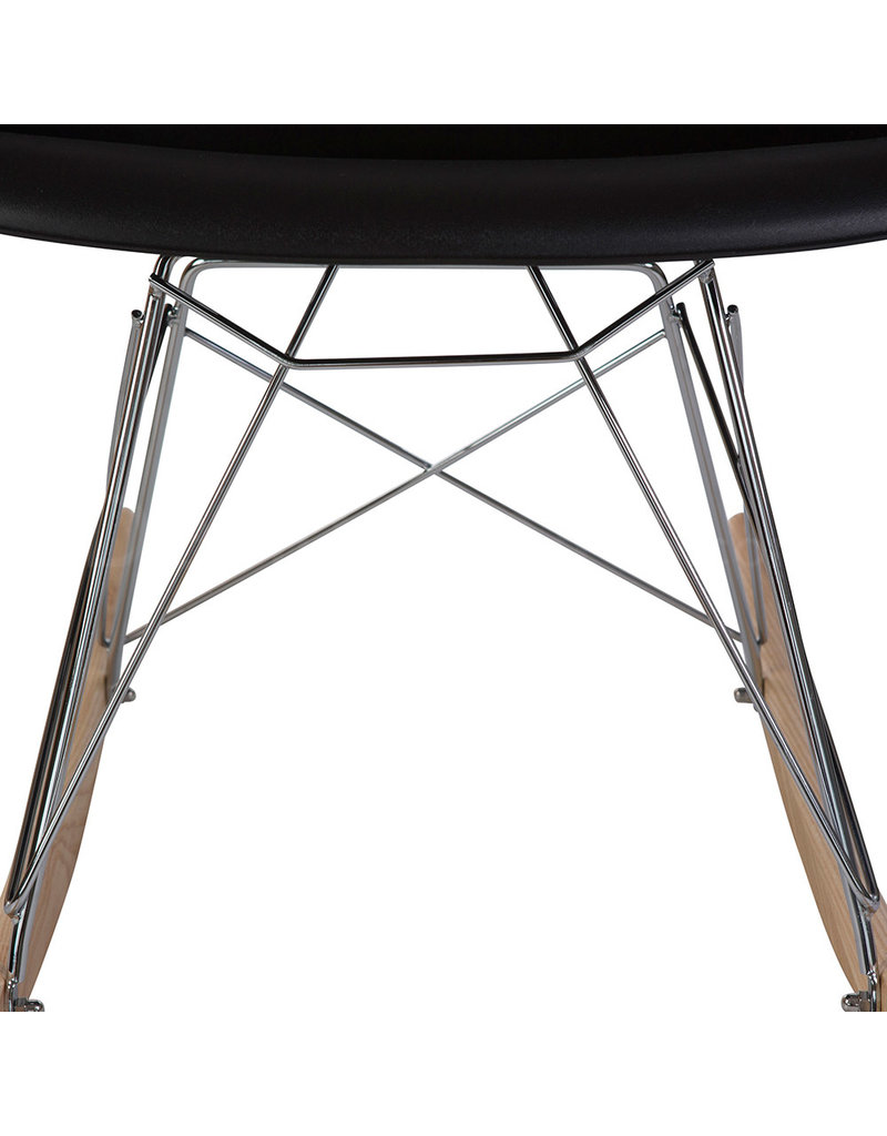 RAR Eames Kids Rocking chair Black