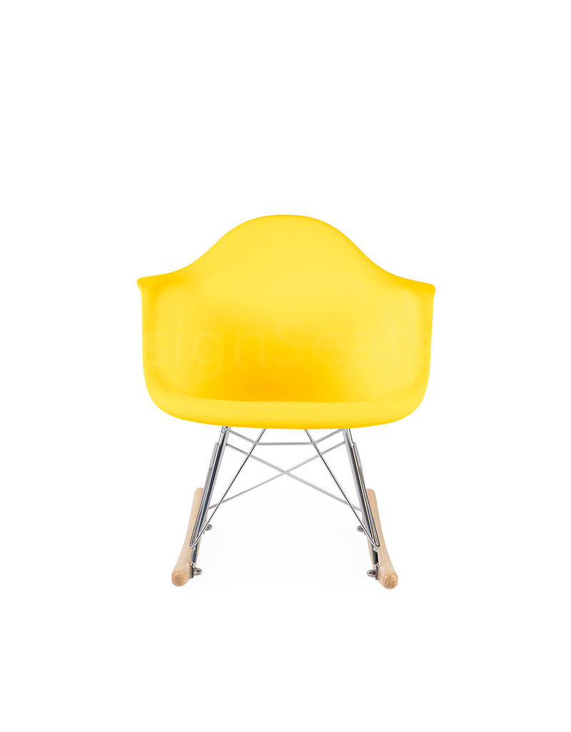 RAR Eames Kids Rocking chair Corn Yellow
