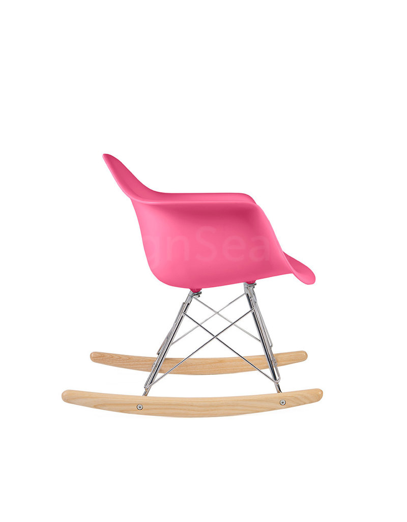 RAR Eames Kids Rocking chair Hot Pink