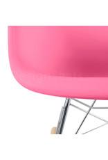 RAR Eames Kinder Schommelstoel Zuurstok Roze