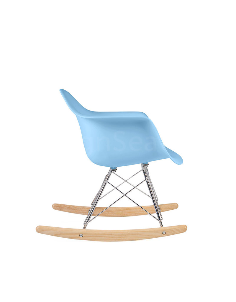 RAR Eames Kids Rocking chair Pastel baby blue