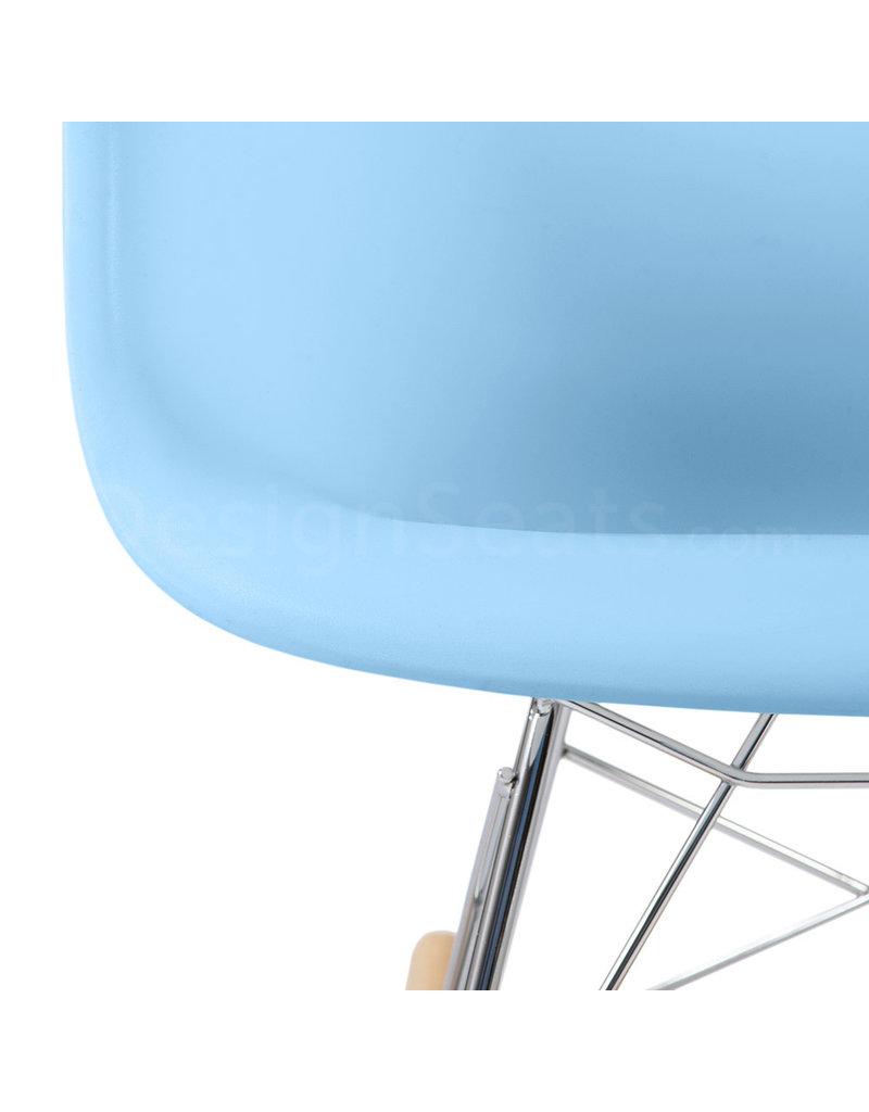 RAR Eames Kinder Schommelstoel Pastel baby blauw