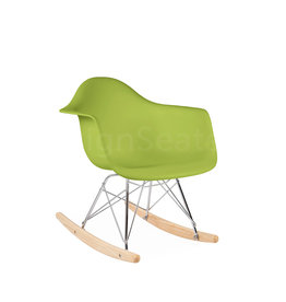 RAR Eames Kids Rocking chair Limegreen