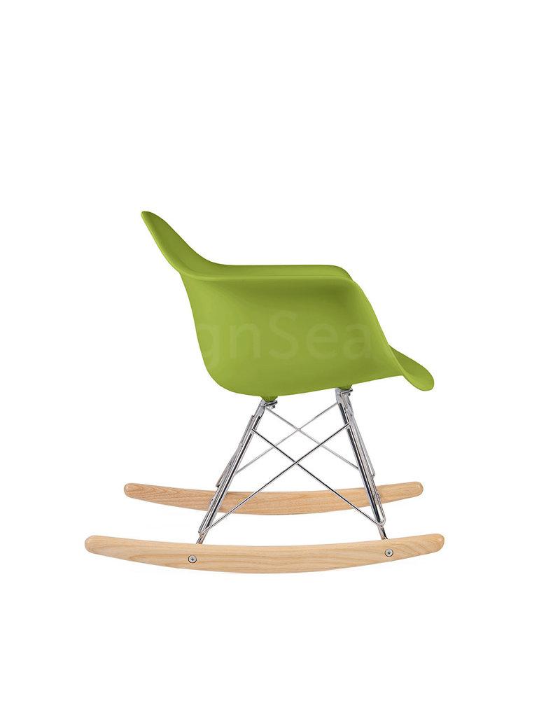 RAR Eames Kids Rocking chair Limegreen
