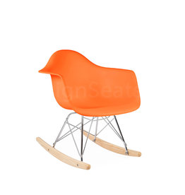 RAR Eames Kids Rocking chair Orange