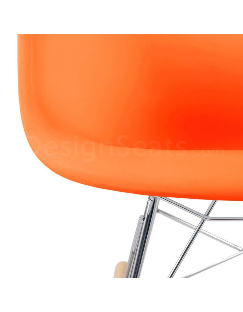 RAR Eames Kinder Schommelstoel Oranje