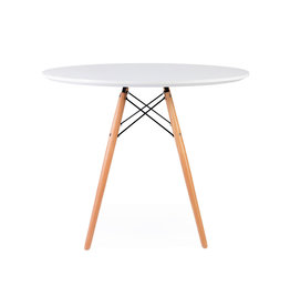 WDW Eames table White