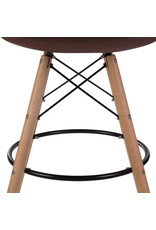 DSW BAR Eames  Bar Stool Brown