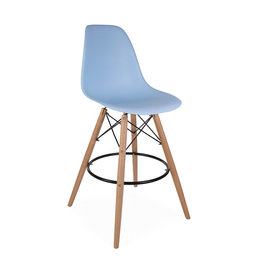 DSW BAR Eames Bar Stool Lilac blue