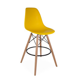 DSW BAR Eames Bar Stool Corn yellow