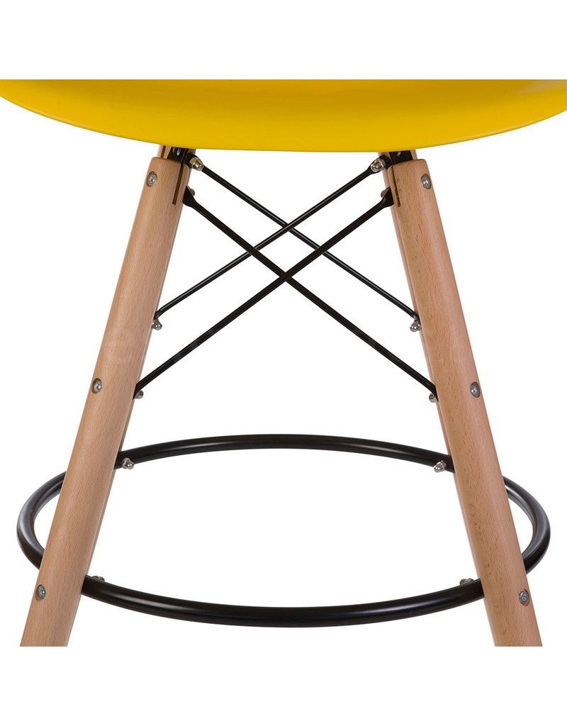 DSW BAR Eames  Bar Stool Corn yellow