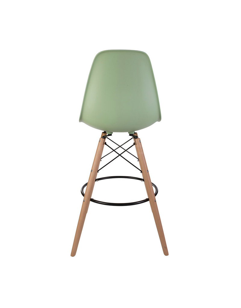 DSW BAR Eames  Bar Stool Pastelgreen