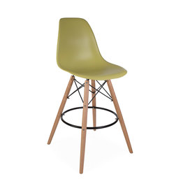 DSW BAR Eames Bar Stool Limegreen