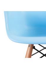 DAW Eames Kinderstoel Pastel baby blauw